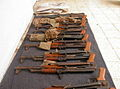 Flickr - Israel Defense Forces - Soldiers Uncover Sack Filled with AK-47s.jpg