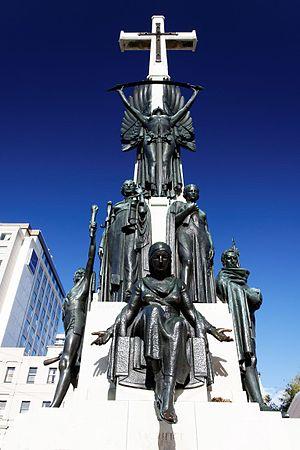 Citizens' War Memorial - Image: Flickr Roger T Wong 20100130 21 War Memorial