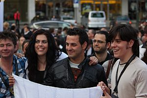 The Islanders (Cypriot band) - Image: Flickr aktivioslo Jon Lilygreen ^ The Islanders Kypros (1)