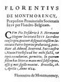 Florentivs de Montmorency, Praepositus Prouincialis Societatis Iesv per Flandro-Belgicam.png