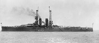 Florida-class battleship - Image: Florida class battleship 1912 LOC hec 01148