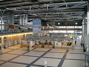 Rostock–Laage Airport - Check-in hall