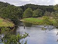 Fly fishing above Pauperhaugh Bridge - geograph.org.uk - 1431311.jpg