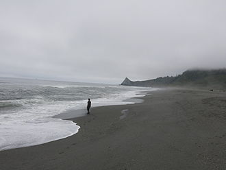 Patrick's Point State Park - Agate Beach, at the northern end of Patrick's Point State Park