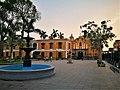 Font al parque Universitario de Lima amb el Panteón de los Próceres al fons.jpg