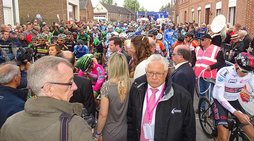 Fontaine-au-Pire - Quatre jours de Dunkerque, étape 2, 7 mai 2015, départ (C07).JPG