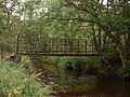 Footbridge over Caddon Water - geograph.org.uk - 222662.jpg