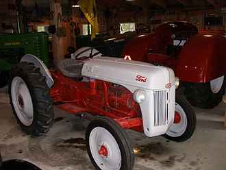 Ford N-series tractor - A restored Ford 8N