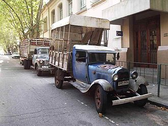 Ford Model AA - A 1929 AA still working in Montevideo, Uruguay, in 2005