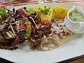Forellen.Matjes Kartoffeln Salat Grüne Sosse.jpg