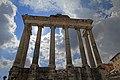 Foro Romano, Tempio di Saturno - panoramio.jpg