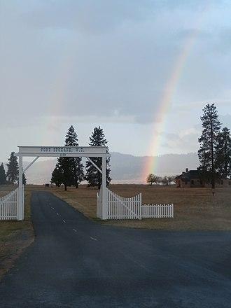 Fort Spokane - Fort Spokane Entrance