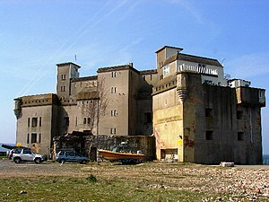 Palmerston Forts - Fort Albert, one of the Palmerston Forts, located on the Isle of Wight