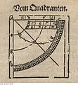 Fotothek df tg 0001546 Geometrie ^ Vermessung ^ Vermessungsinstrument ^ Quadrant.jpg