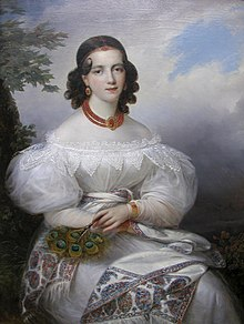 François-Joseph Kinsoen - Portrait of a German Princess.JPG