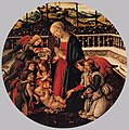 Francesco Botticini - Madonna with Child, St John the Baptist, and Angels - WGA2863.jpg