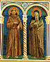 Saints Francis and Clare of Assisi.