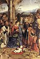 Francesco Francia - Adoration of the Child (detail) - WGA08170.jpg