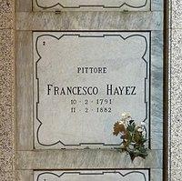Francesco Hayez grave Milan 2015.jpg