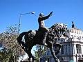 Francisco I. Madero frente al Palacio de Bellas Artes - panoramio.jpg
