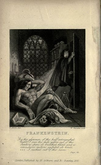 Feminist science fiction - Mary Shelley's Frankenstein (1818)