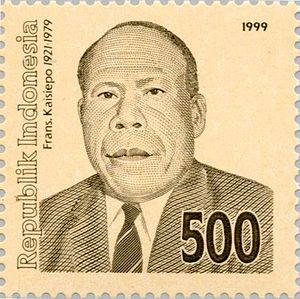 Frans Kaisiepo - Frans Kaisiepo as depicted in a 1999 stamp