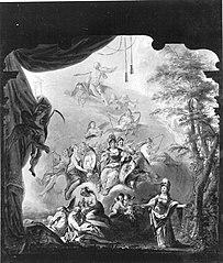Verherrlichung des Kurfürsten Karl Theodor von der Pfalz