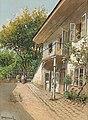 Franz Demel - Sonniger Innenhof.jpg