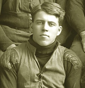 Fred Norcross - Fred Norcross cropped from 1903 Michigan Wolverines team photograph