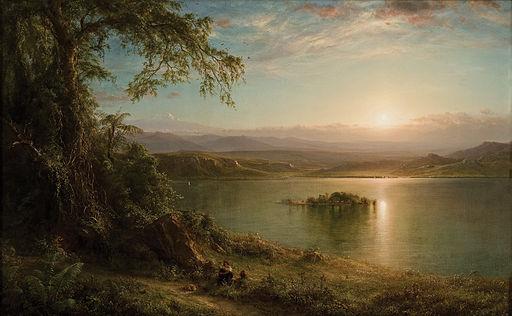 Frederic Edwin Church - Amanecer en el trópico