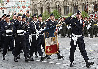 Normandie-Niemen - The regiment in Moscow in 2010.