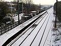Frizinghall Station on Christmas Day - geograph.org.uk - 1639556.jpg