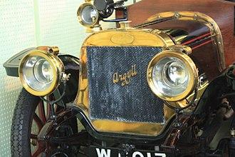 Argyll (car) - Front of a 1908 Argyll 14 16
