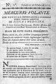 Front page of 1st edition of Mercurio Volante, 1772 Wellcome L0002686.jpg