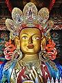 Front profile, Maitreya Buddha, Thiksay Monastery - 2.jpg