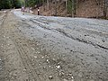 Frost heaves on Bragg Hill Road in Norwich Vermont in March 2012--A.jpg