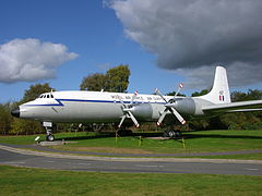 Bristol Britannia w malowaniu Royal Air Force