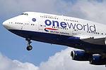 G-CIVK Boeing 747-400 British Airways (14600867229).jpg