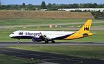 G-ZBAF A321 Monarch BHX 29-09-16 (31456912115).jpg