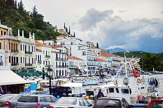 Gytheio - View of the port.