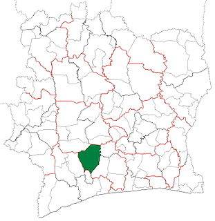 Gagnoa Department Department in Gôh-Djiboua, Ivory Coast