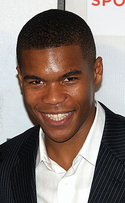 Gaius Charles at the 2008 Tribeca Film Festival.JPG