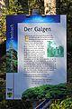 Galgen am Galgenberg in Arbesbach Schild 2016-08.jpg