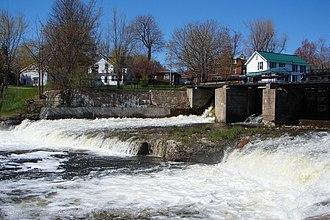 Gananoque River - Image: Gananoque River 1
