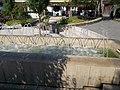 Garda fountain. - Borsos Miklós Square, Tihany.JPG
