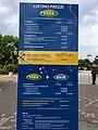 Gardaland Price Board May 2017 (34495447476).jpg