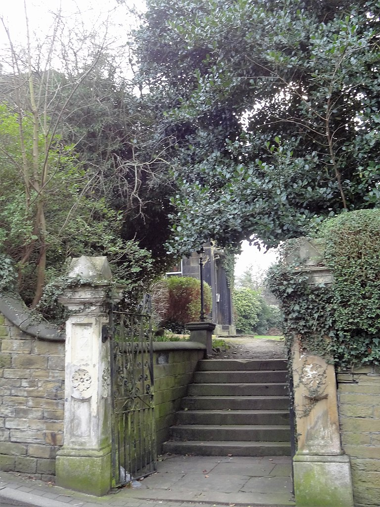 File Garden Wall Gate Piers And Steps To Virginia House Jpg
