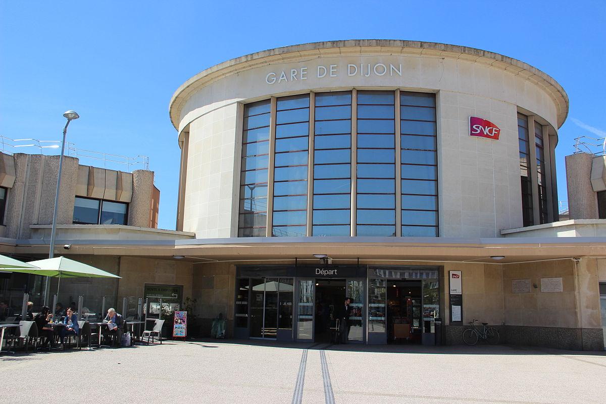 Paris Gare De Lyon Dijon Ville Tgv