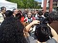 Gaspar Llamazares en un acto de Ezker Batua contra las centrales nucleares (8 de mayo de 2011, Vitoria).jpg