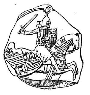 Gaston II, Count of Foix - Image: Gaston II de Foix Béarn